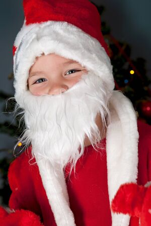 Portrait of Santa Claus photo
