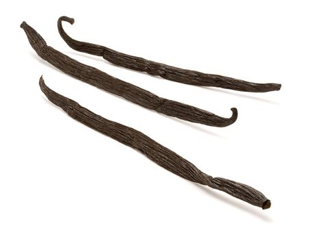 Vanilla Beans Stock Photo