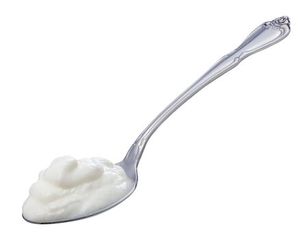 Yogurt Spoon  Archivio Fotografico - 861101