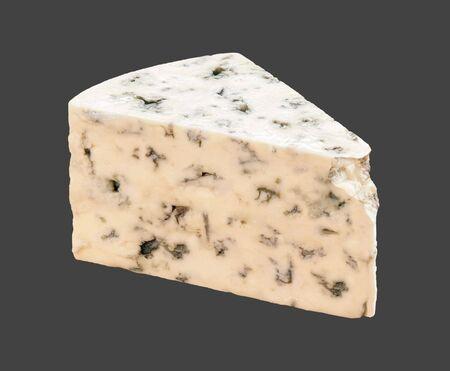 Blue Cheese on a dark background