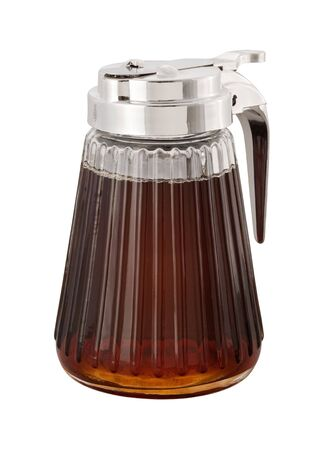 Maple Syrup and dispenser Stock Photo - 4234180