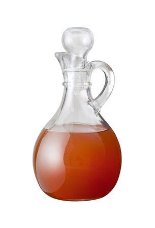 Apple Cider Vinegar isolated on a white background