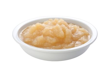 Applesauce in a Dish