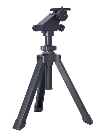 Small Tripod isolated on white