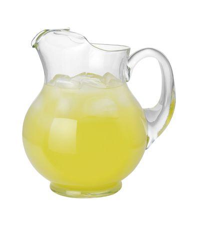 limonada: Jarra de limonada  Foto de archivo