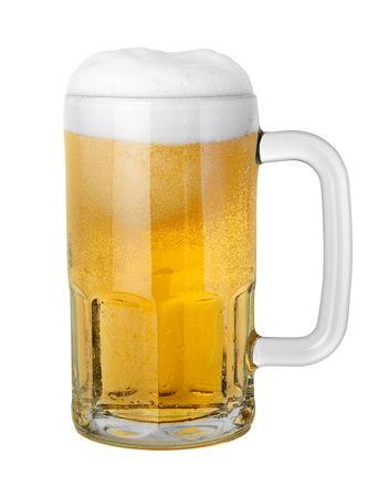 Beer in een beker