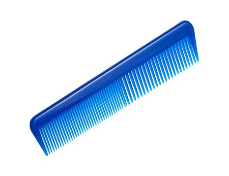 comb: Comb isolated on white Stock Photo
