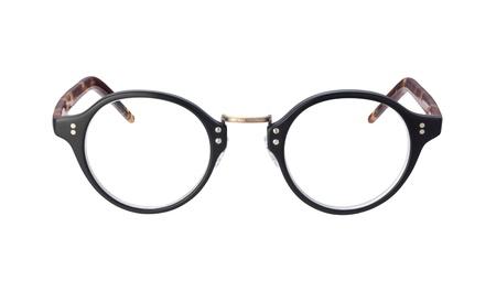Vintage Eyeglasses isolated on white
