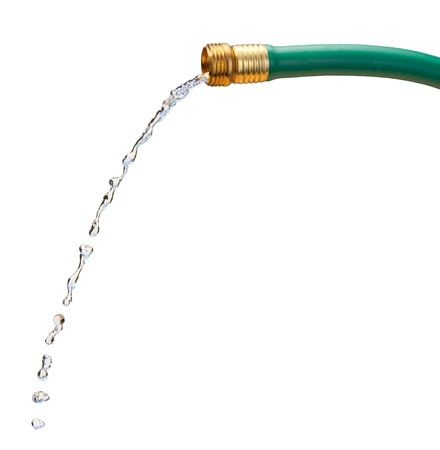 Water Hose isolated on white