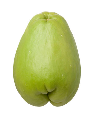 chayote: Chayote isolated on white with a clipping mask.