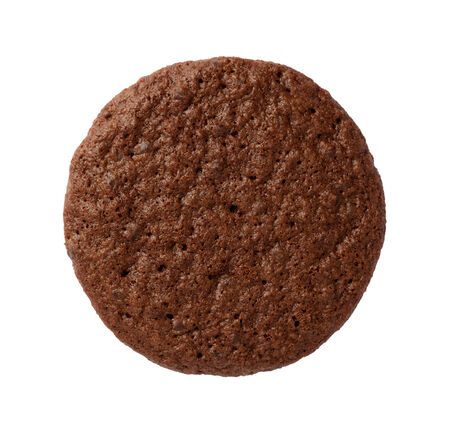 brownie: Brownie Cookie isolated on a white . Stock Photo