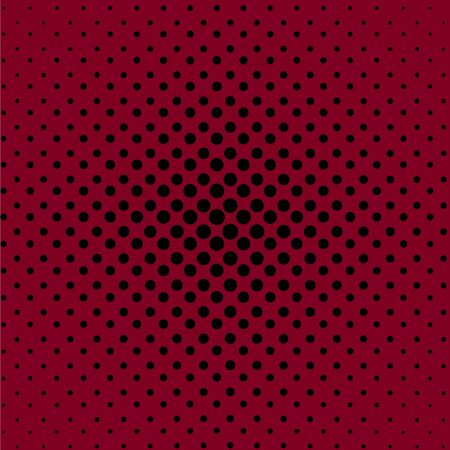 Abstract pink and black dotted background, vector illustration.