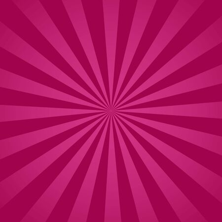 Purple radial retro background. Purple and pink abstract spiral, starburst. vector eps10