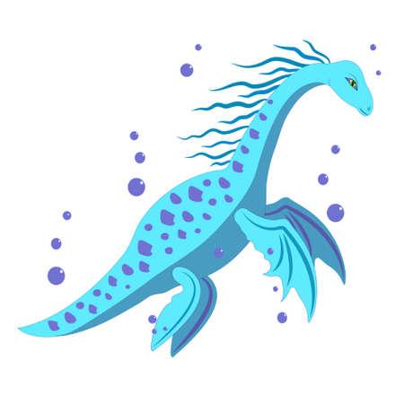 water dinosaur.