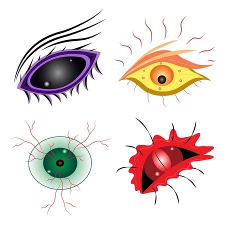 eyelids: four eyes