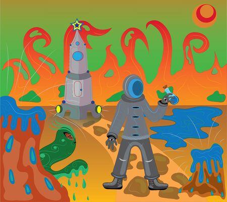 Débarquement sur Mars