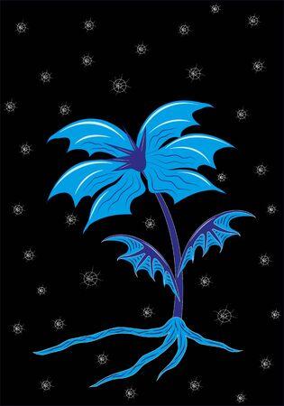 Snow flower Illustration