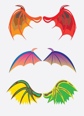 Wings of dragons