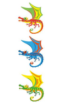 Little magic dragons