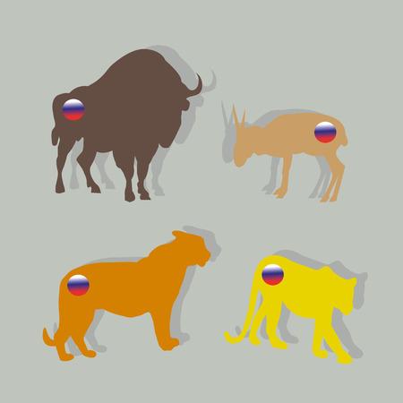 Endangered Russian animals