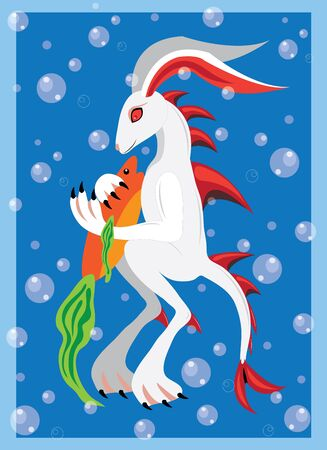 Underwater rabbit