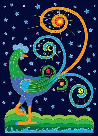 Fantastic star rooster