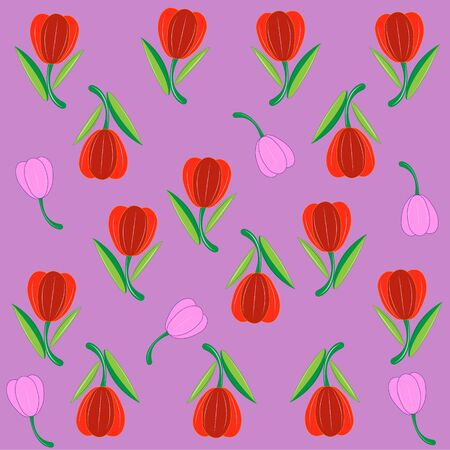 Red tulips image