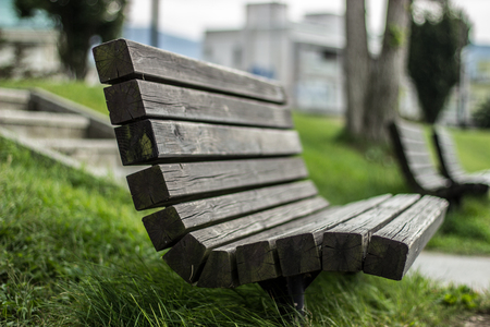 wood bench: Wood Bench