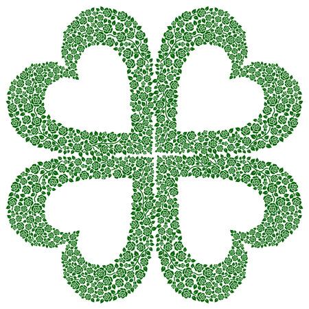 a clover Vector