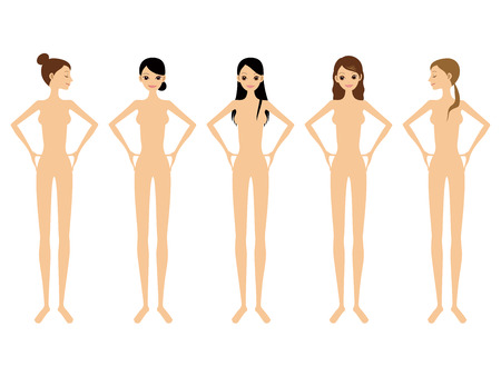 nude woman: women and nude