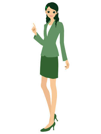 A working woman Stock Vector - 8397748
