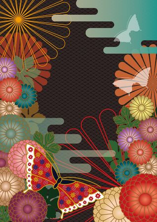 A Japanese-style background