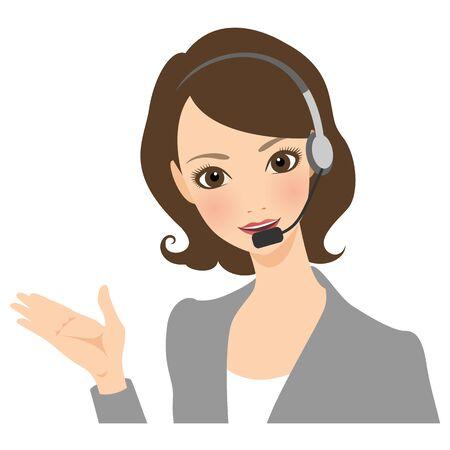 Businesswoman Operator
