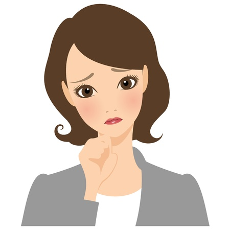 Businesswoman Trouble Stock Photo