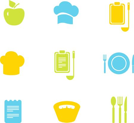icons: Cooking icons Illustration