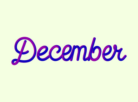 Calendar Months Icons Set Vector Illustration