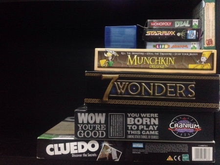 board games: Variety Of Board Games