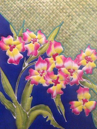 artwork: Handcraft Batik Artwork Stock Photo