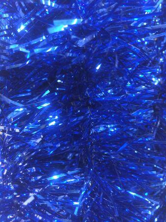christmas deco: Deco azul de la Navidad