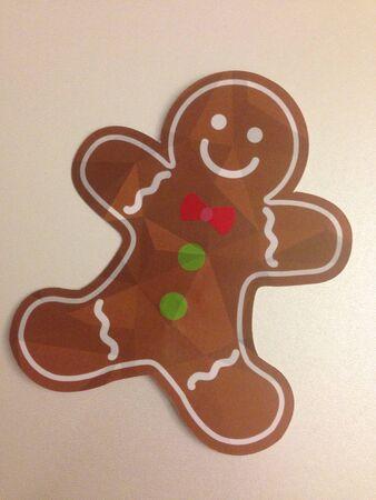 ritagliare: Tagliare gingerbread man