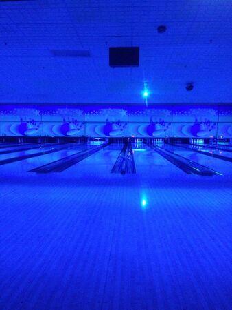 glow: Bowling lanes