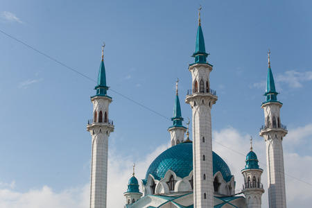 Qolsharif kul sharif mosque,  kazan kremlin russia