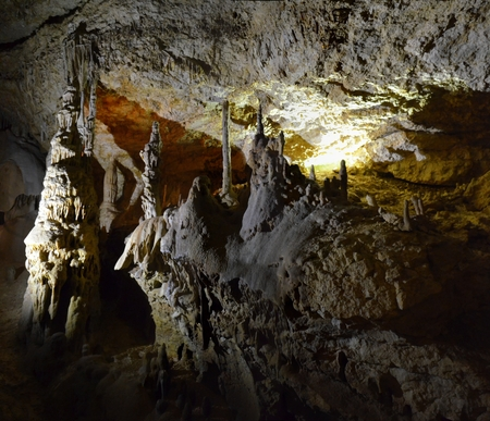 interspersed: Mammoth Cave on the Crimean Peninsula in Russia