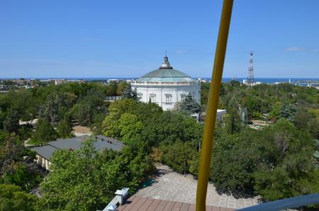 Uitzicht op de stad Sevastopol in mei 2014.