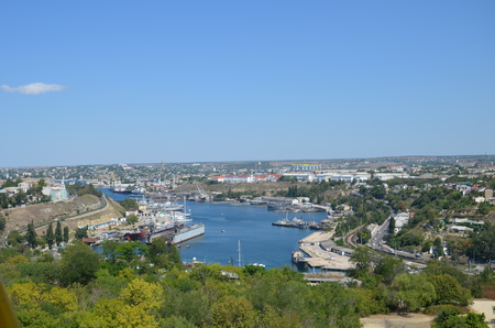 lading: Views of the city of Sevastopol in May 2014.