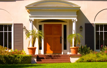 door leaf: bella casa nella zona di los angeles