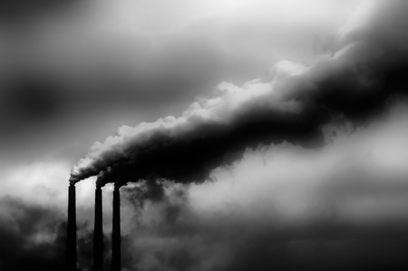 hellish: Global warming view of Glen canyon power plant