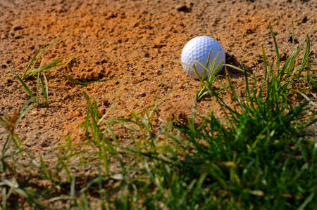 wager: Closeup of Sand Trap