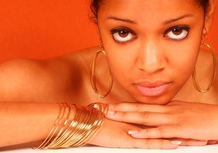 Georgeous Black Woman Stock Photo - 10948585
