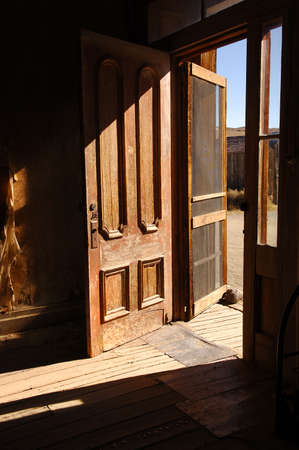 bodie: Ghost town hotel in Bodie, california